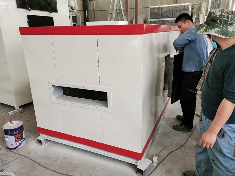 线型燃烧机换热室