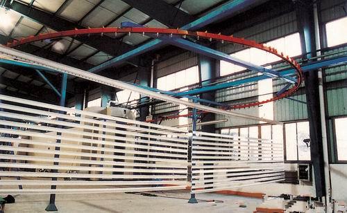 铝型材喷粉流水线